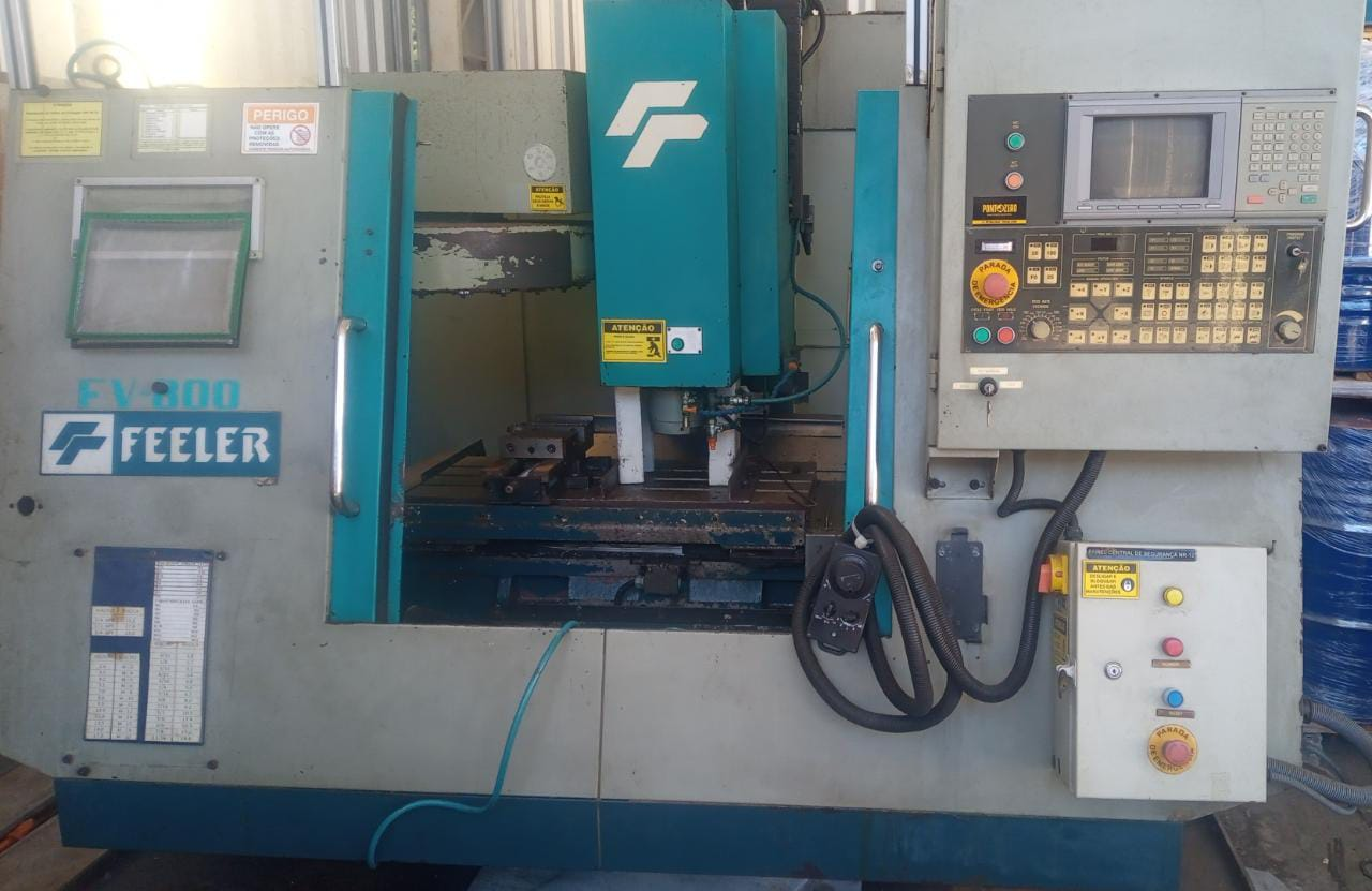 Centro de usinagem vertical FEELER FV-800
